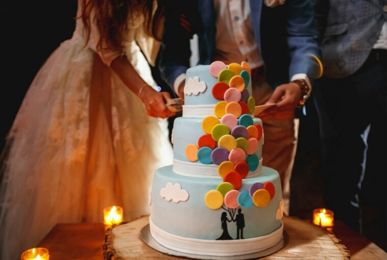22 Sumptuous Wedding Cakes for Your Big Day - weddings, wedding cakes, Wedding Cake, wedding, sumptuous, simple, Elegant, cake