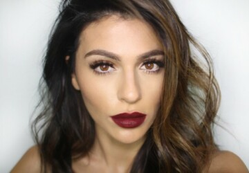 18 Seductive Berry Lips Makeup Looks - seductive, makeup looks, makeup look, Makeup, lips, berry lips, berry