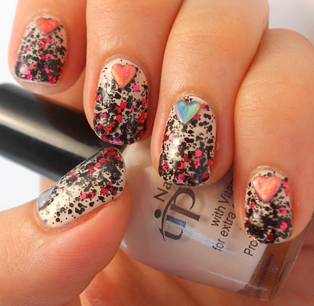 24 Cute Nail Art Ideas for Valentines Day