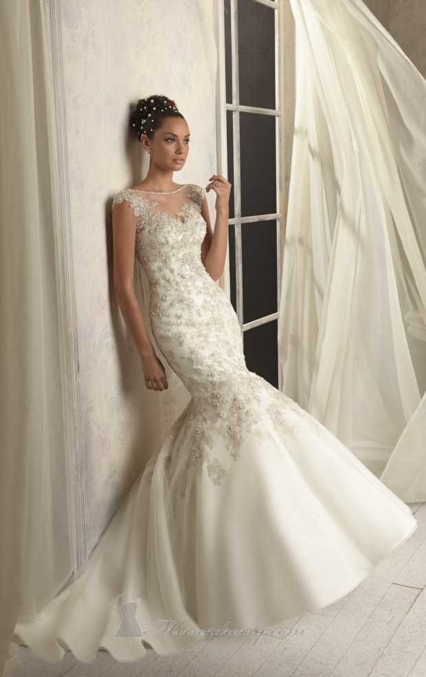 30 Beautiful Mermaid Wedding Dresses - Style Motivation