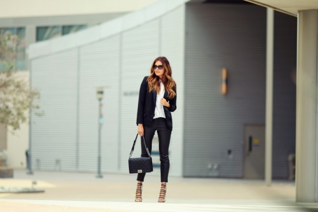 20 Stylish Outfit Ideas by Famous Fashion Blogger Erica from FashionedChic