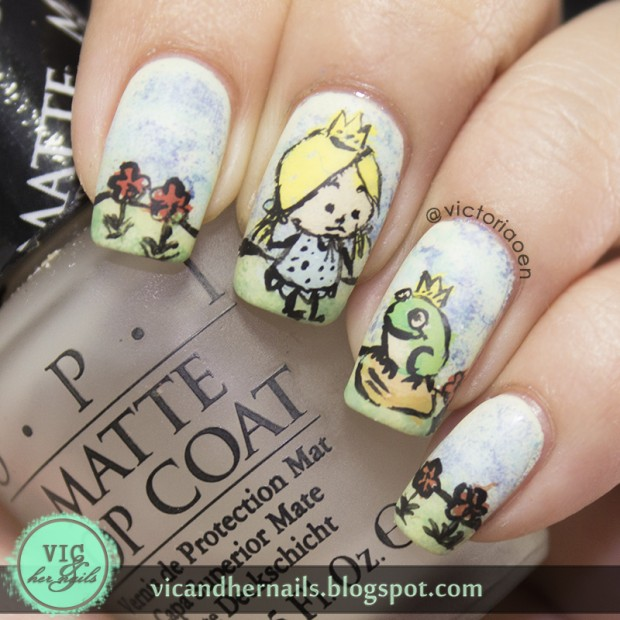 20 Beautiful Nail Art Ideas Inspired by Fairy Tales