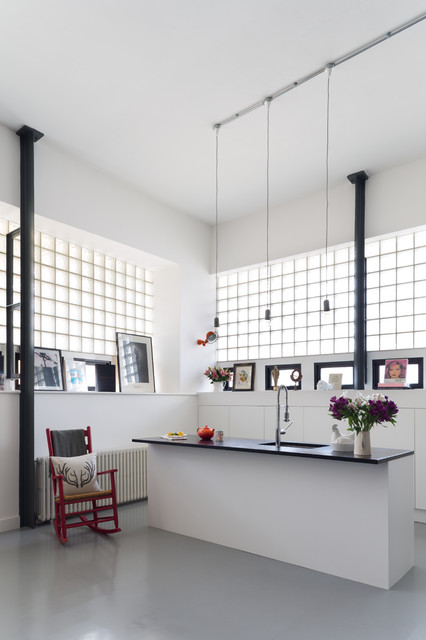 20 Stunning Monochrome Kitchen Design Ideas