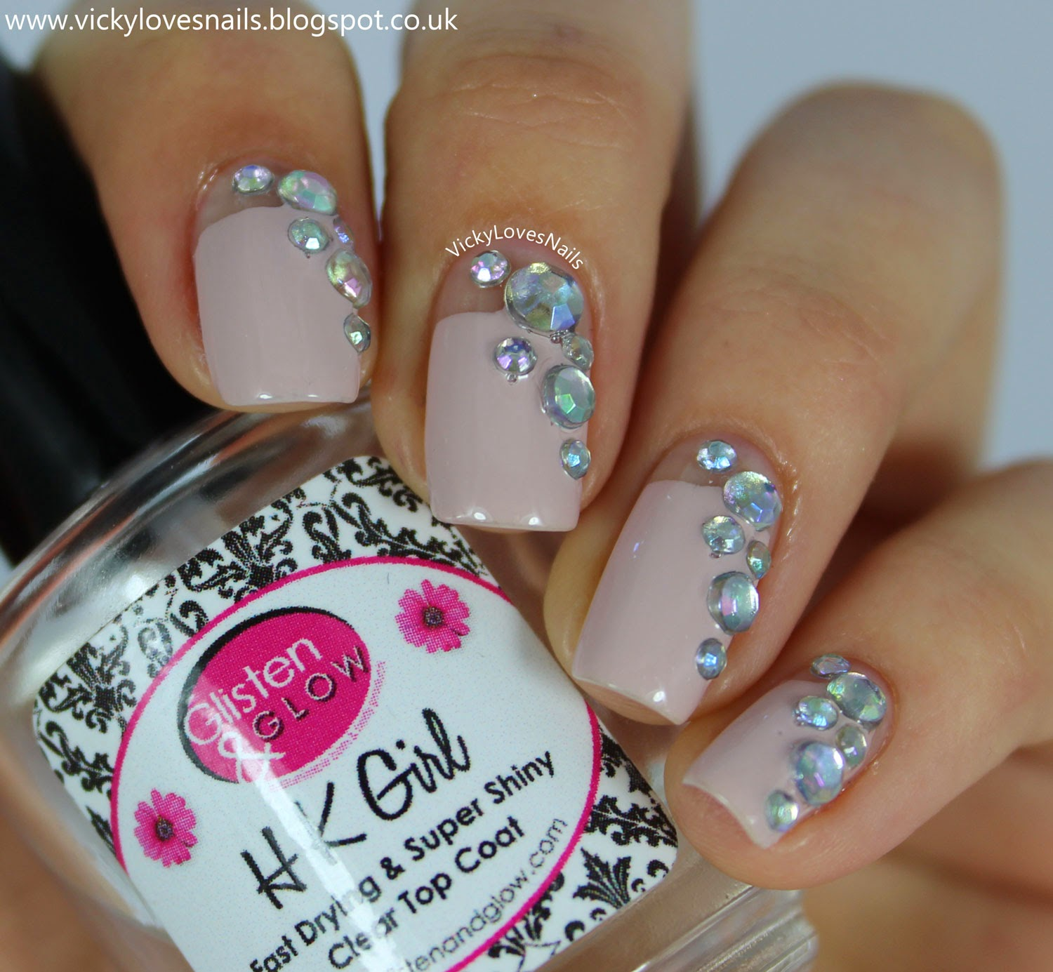 16 Spectacular 3d Nail Designs Rhinestones Gems And Pearls On Your