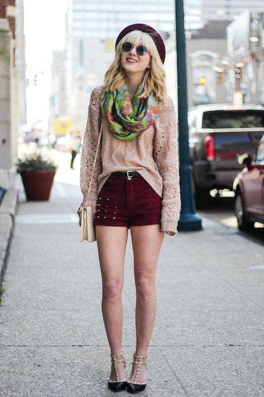 How to Wear Shorts in Cold Weather- 18 Stylish and Chic ...