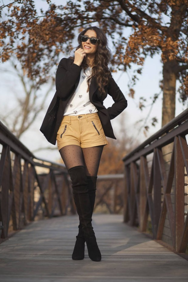 How to Wear Shorts in Cold Weather  18 Stylish and Chic Outfit Ideas
