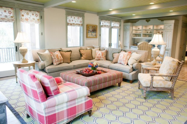 20 Elegant And Functional Living Room Design Ideas With Sectional Sofas