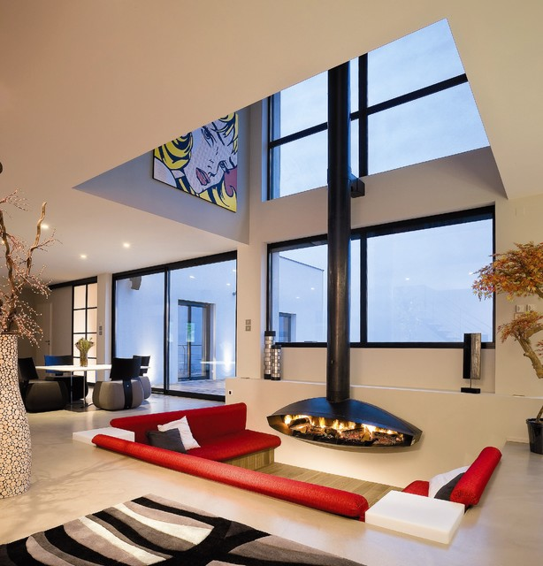 20 Sunken Living Room Design Ideas Fabulous Addition to Every Interior