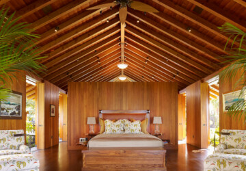 20 Amazing Wooden Master Bedroom Design Ideas - wooden interior, wooden bedroom, bedroom design
