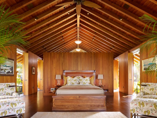 20 Amazing Wooden Master Bedroom Design Ideas , Style Motivation