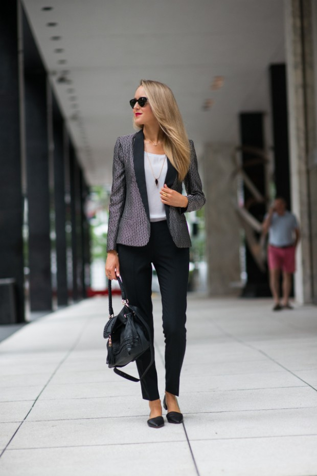 Style Tips on How to Wear Blazer   21 Outfit Ideas