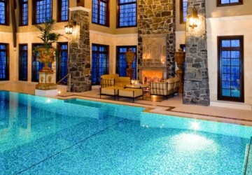 23 Amazing Indoor Swimming Pool Ideas   - swimming pool, pool, indoor swimming pool, indoor