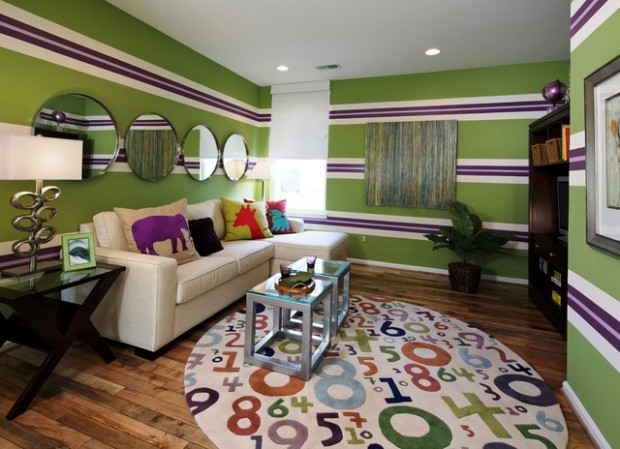 20 Bright and Colorful Living Room Ideas
