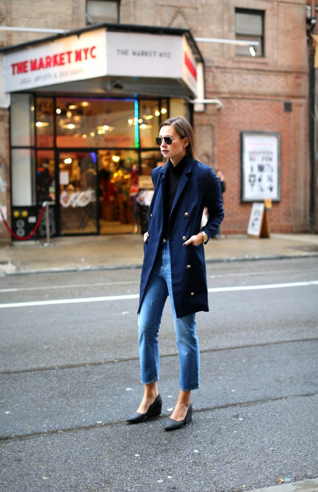 25 Stylish Navy Outfit Ideas for Perfect Look