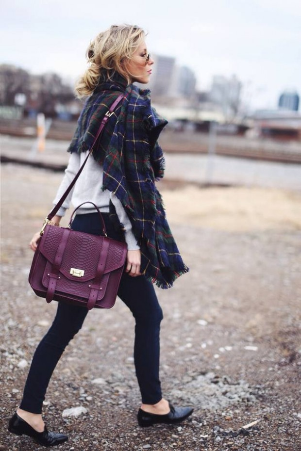 Stylish Ways to Wear Tartan: 27 Outfit Ideas