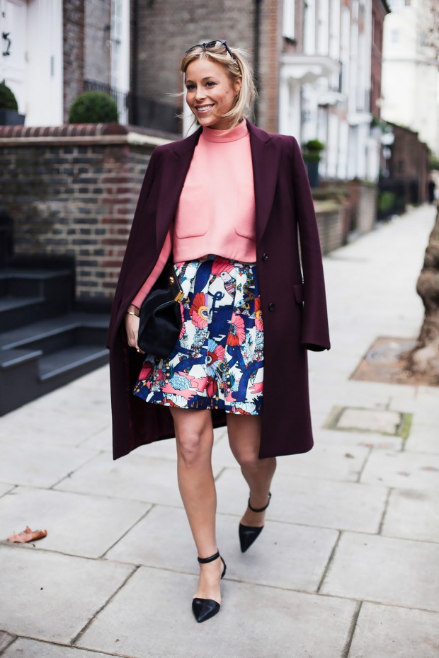 Brighten Up the Winter Months With a Pop of Color   21 Outfit Ideas