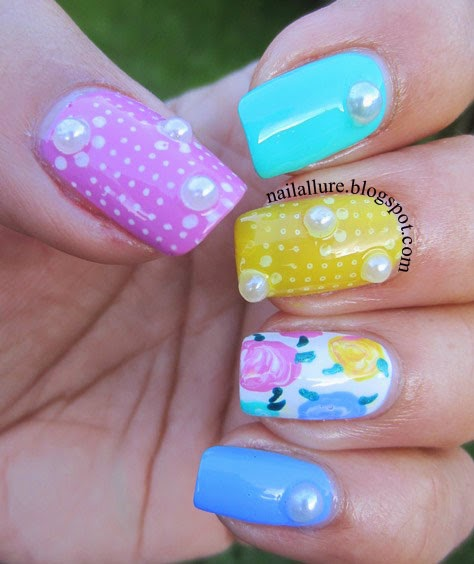 Soft-Pastel-Nails-for-Cute-Chic-Look-17-Adorable-Nail-Art-Ideas-for-Spring-and-Summer-11