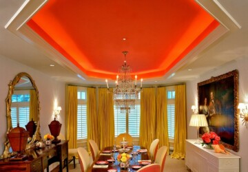 20 Amazing Dining Room Design Ideas with Tray Ceiling - Tray Ceiling dining room, Tray Ceiling, dining room design ideas, dining room, ceiling