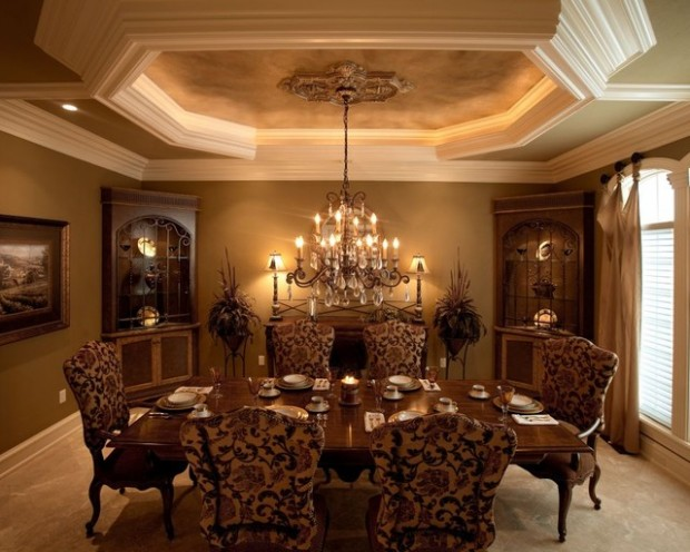 Tray Ceiling Dining (16)