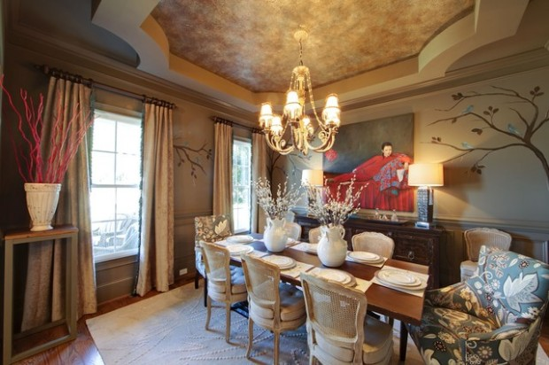 Tray Ceiling Dining (2)