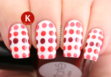 Cute Dots on Your Nails for Adorable Nails Look - nail design, nail art ideas, Nail Art, dots nail art, Dots
