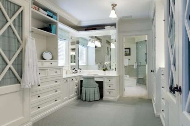 Wonderful 20 Fabulous Dressing Room Design And Decor Ideas Part 23