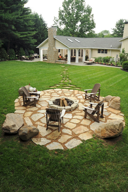Backyard Fire Pit Plans : 20 Landscaping Backyard Fire Pit Design Ideas Style Motivation