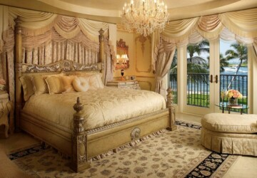 Golden Tone Details for Extravagant Bedroom Look- 18 Great Design Ideas - golden tones interior, golden tones bedroom, golden tones, bedroom design ideas, bedroom decor ideas