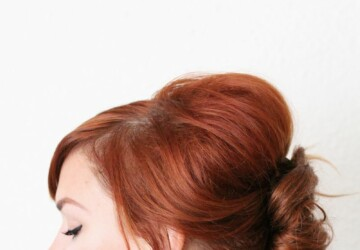 17 Great Tutorials and Ideas for Perfect Everyday Hairstyle - Hairstyles, hairstyle tutorials, hairstyle ideas, Everyday Hairstyles, easy hearstyles