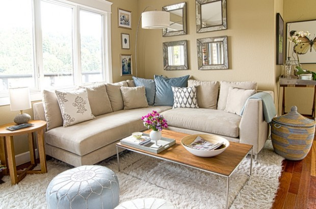 Corner Sofa Decorating Ideas