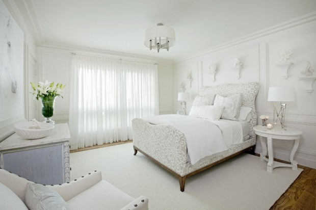 17 Elegant White Bedroom Design Ideas