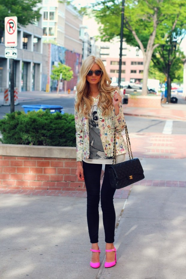 18 Floral Outfits for Chic Spring Look