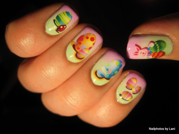 16 Fantastic Ideas How to Beautify Your Nails for Easter