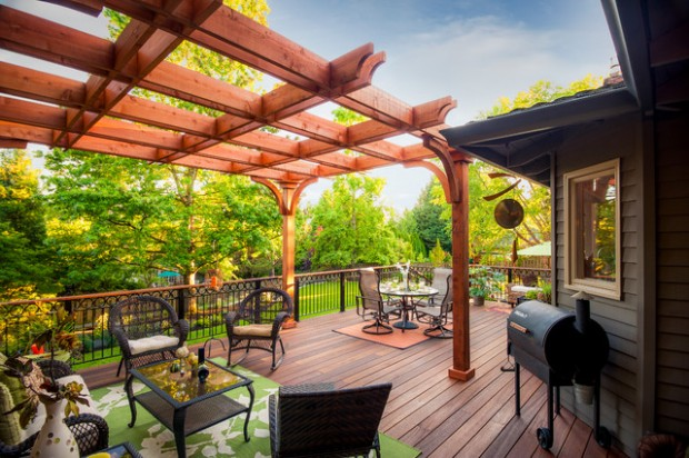 20 Deck Pergola Design Ideas for Enhanced Beauty of Your Outdoor area