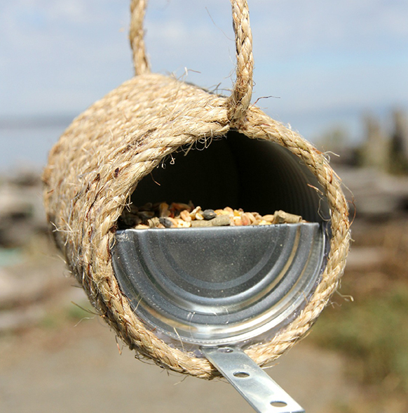16 Creative DIY Bird Feeders Welcome The Feathered Friends In Your Backyard