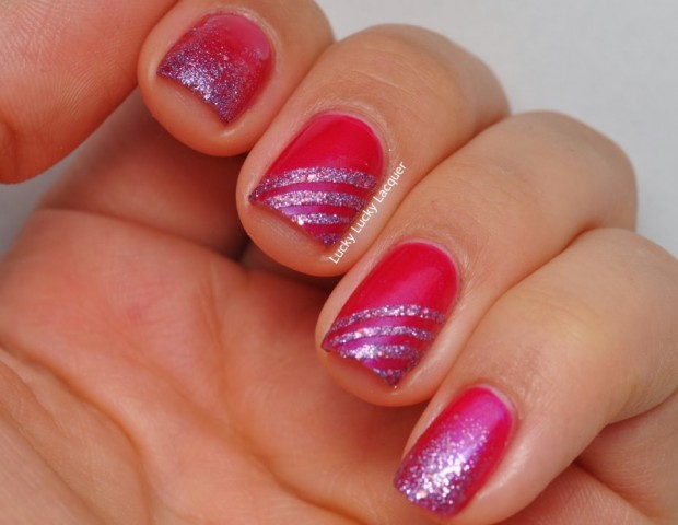 20 Adorable And Creative Nail Art Ideas With Stripes Style Motivation