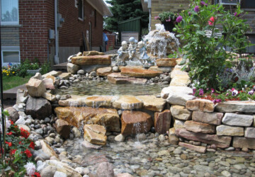Where to Place Outdoor Water Features - water fountain, Outdoor Water Features, garden, fountain, backyard