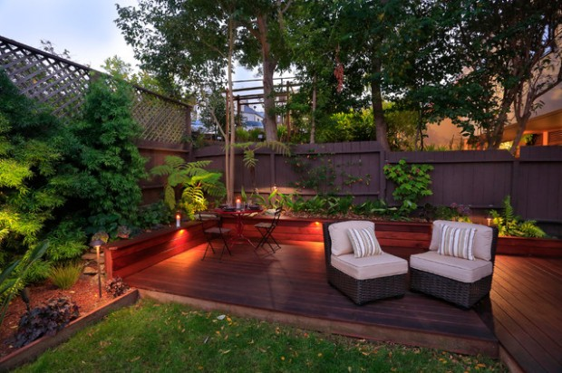 Decking Designs For Small Gardens 20 landscaping deck design ideas for small backyards - style