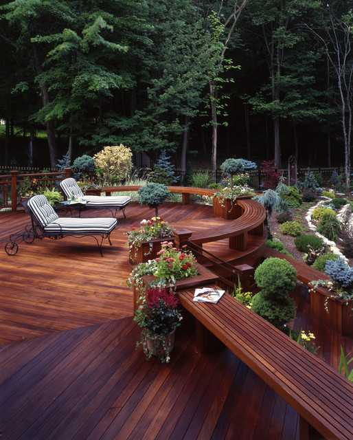 20 Landscaping Deck Design Ideas for Small Backyards ... on Deck And Patio Ideas For Small Backyards id=51664