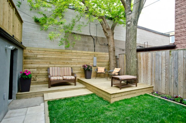 48 Landscaping Deck Design Ideas For Small Backyards Style Motivation Inspiration Small Deck Designs Backyard