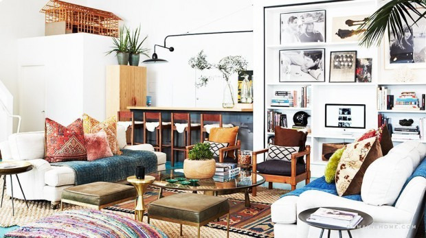 17 Charming Boho- Chic Interior Design And Decor Ideas
