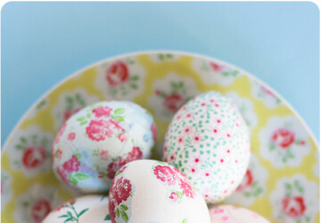 20 Creative and Fun DIY Easter Egg Decorating Ideas - diy Easter eggs decoration, diy Easter decorations, diy Easter