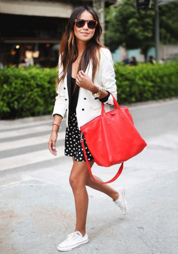 Dots for Spring: 18 Totally Sophisticated Ways to Rock the Classic Print