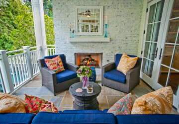20 Inspiring Ideas How To Decorate Your Porch This Spring  - spring decor, spring, porch design, porch decor, Porch, outdoor, cozy porch