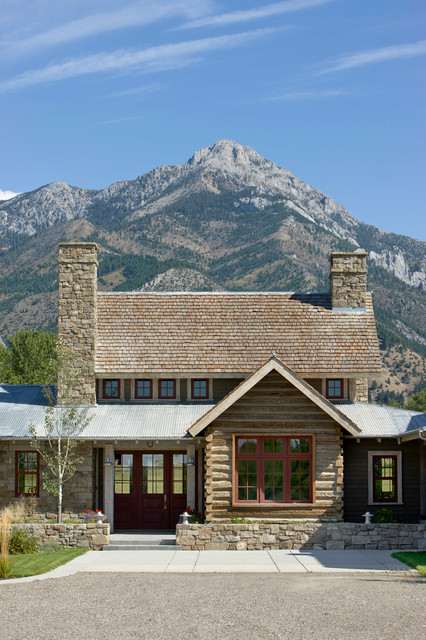 17 rustic mountain house exterior design ideas style for Rustic mountain homes