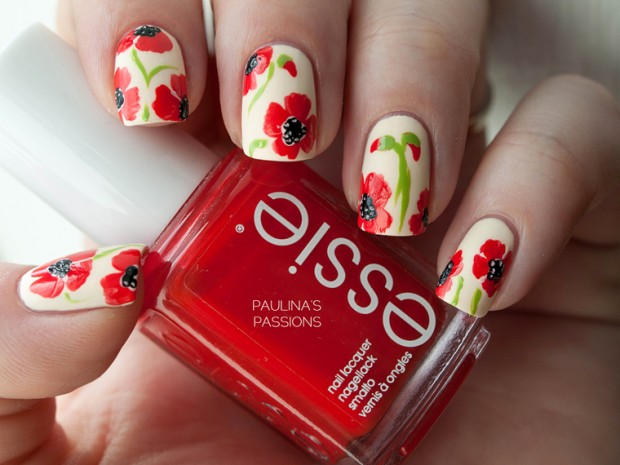 Spring Nails 17 Beautiful Floral Nail Art Ideas