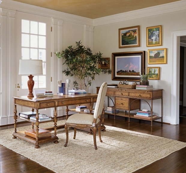 Elegant Home Office: 20 Functional And Sophisticated