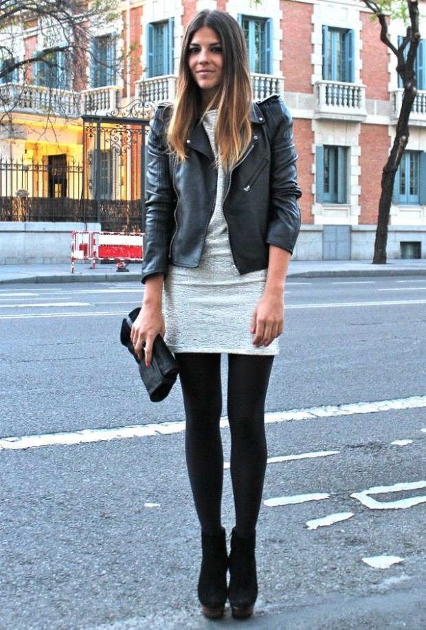 Black Leather Jacket Outfit Ideas | www.imgkid.com - The Image Kid Has It!