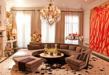 18 Gorgeous Living Room Design Ideas that Look Luxurious and Elegant - luxury living room, luxury dining room, living room design, Living room, elegant living room