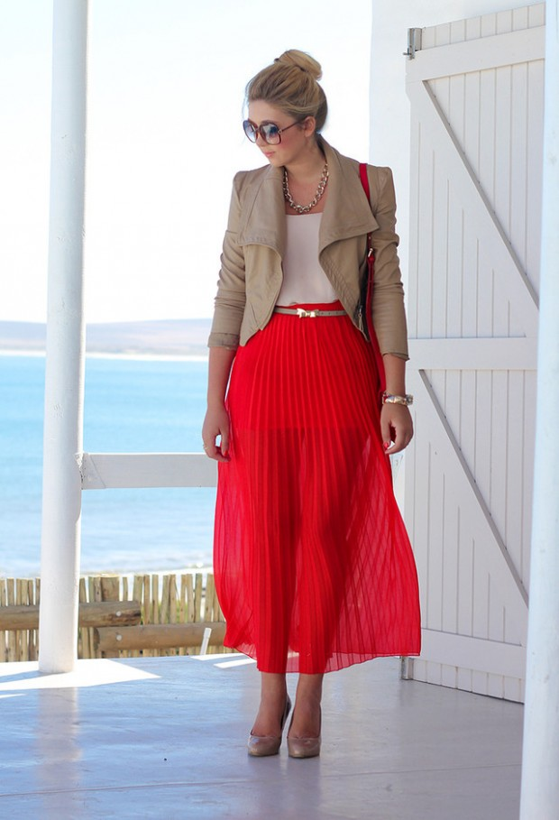 16 Street Style Ways to Wear Midi Skirt